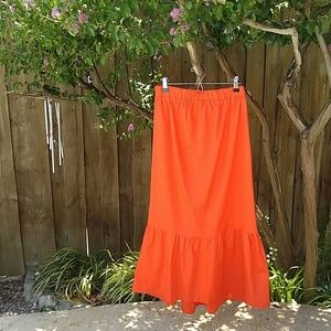 ASOS Peplum Hem Maxi Skirt - NWT